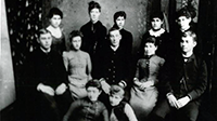 Ames High School Graduating Class of 1887