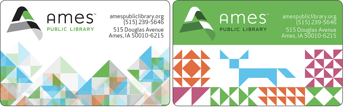 Ames library cards