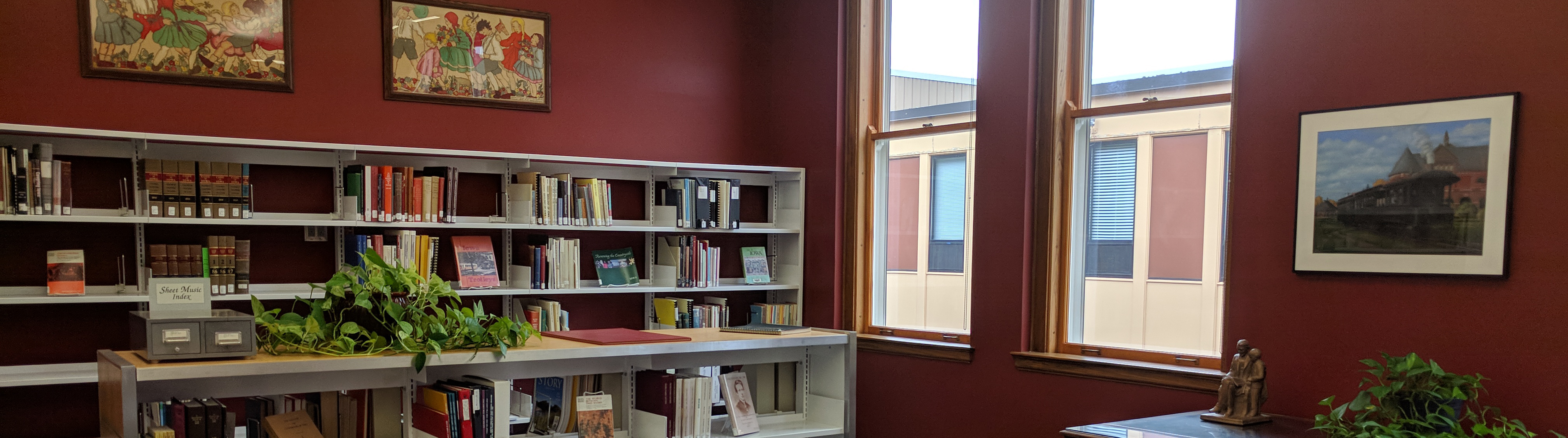 Ames Public Library's Heritage Room