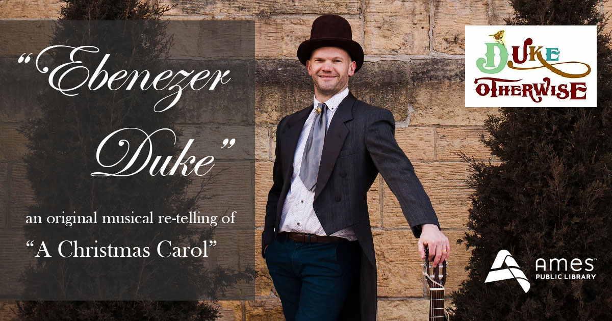 "Ebenezer Duke: an original musical re-telling of ""A Christmas Carol"""