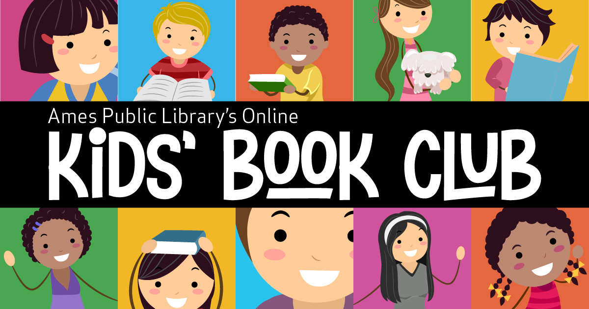 Ames Public Library's Online Kids' Book Club