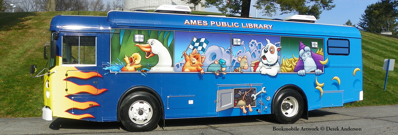 Ames Public Library Bookmobile