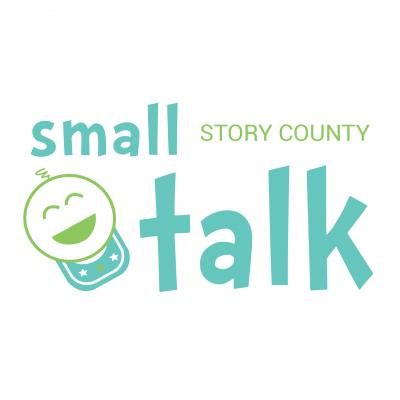 Small Talk Story County Logo