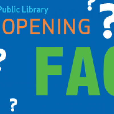 Ames Public Library Reopening FAQ