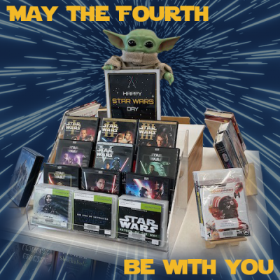 May the Fourth Be With You library display