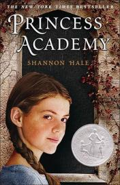 "Book cover for Hale's ""Princess Academy"""