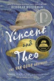 "Book cover for Heiligman's ""Vincent and Theo"""