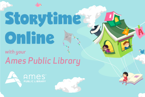 Storytime Online with your Ames Public Library