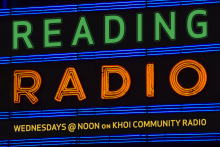 Reading Radio Wednesdays @ Noon on KHOI Community Radio