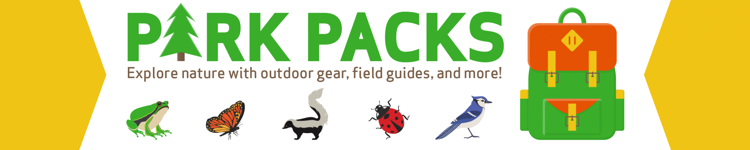 Park Packs: Explore nature with outdoor gear, field guides, and more!