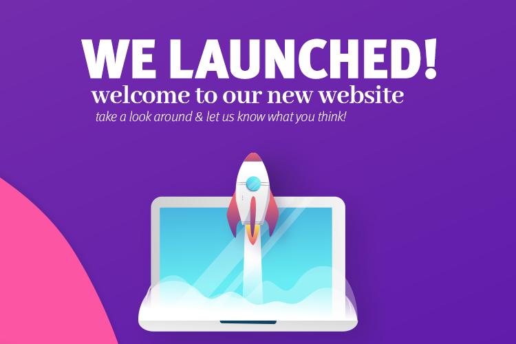 New Website Slide